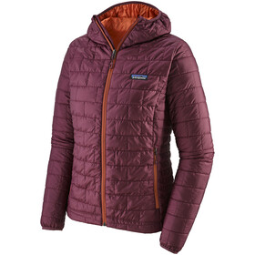 Patagonia Nano Puff Hoodie Damen light balsamic